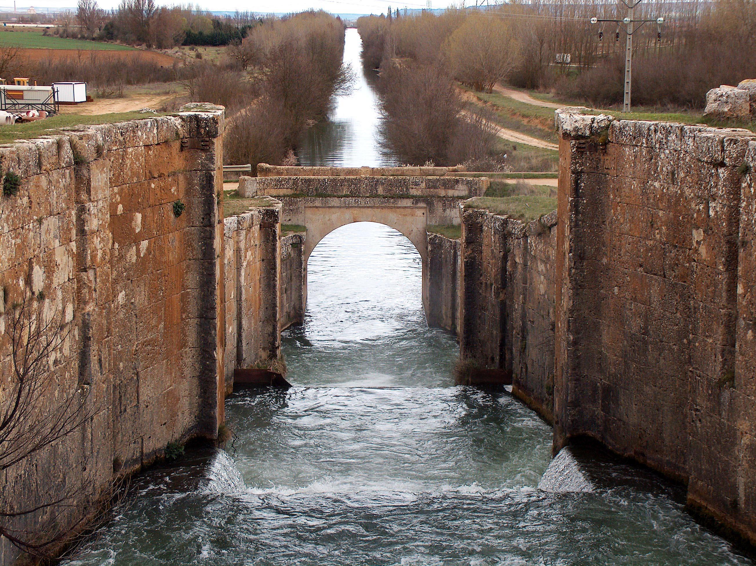 Galería del Canal de Castilla