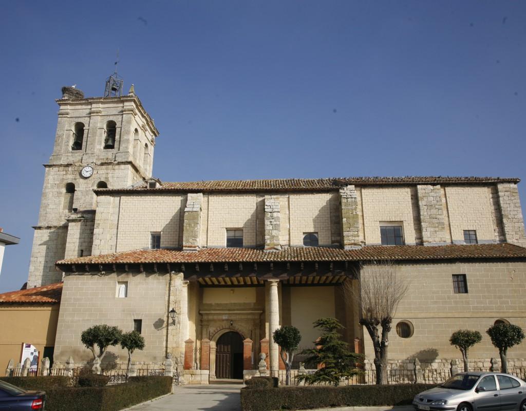 Resultado de imagen de iglesia de santa cruz grijota