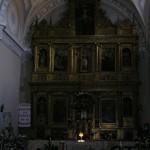 Retablo iglesia Santa Cruz Grijota