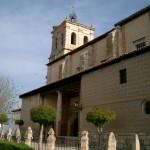 Iglesia Santa Cruz lateral Grijota
