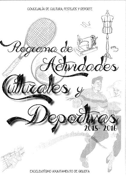 Actividades Culturales y Deportivas 2015-2016