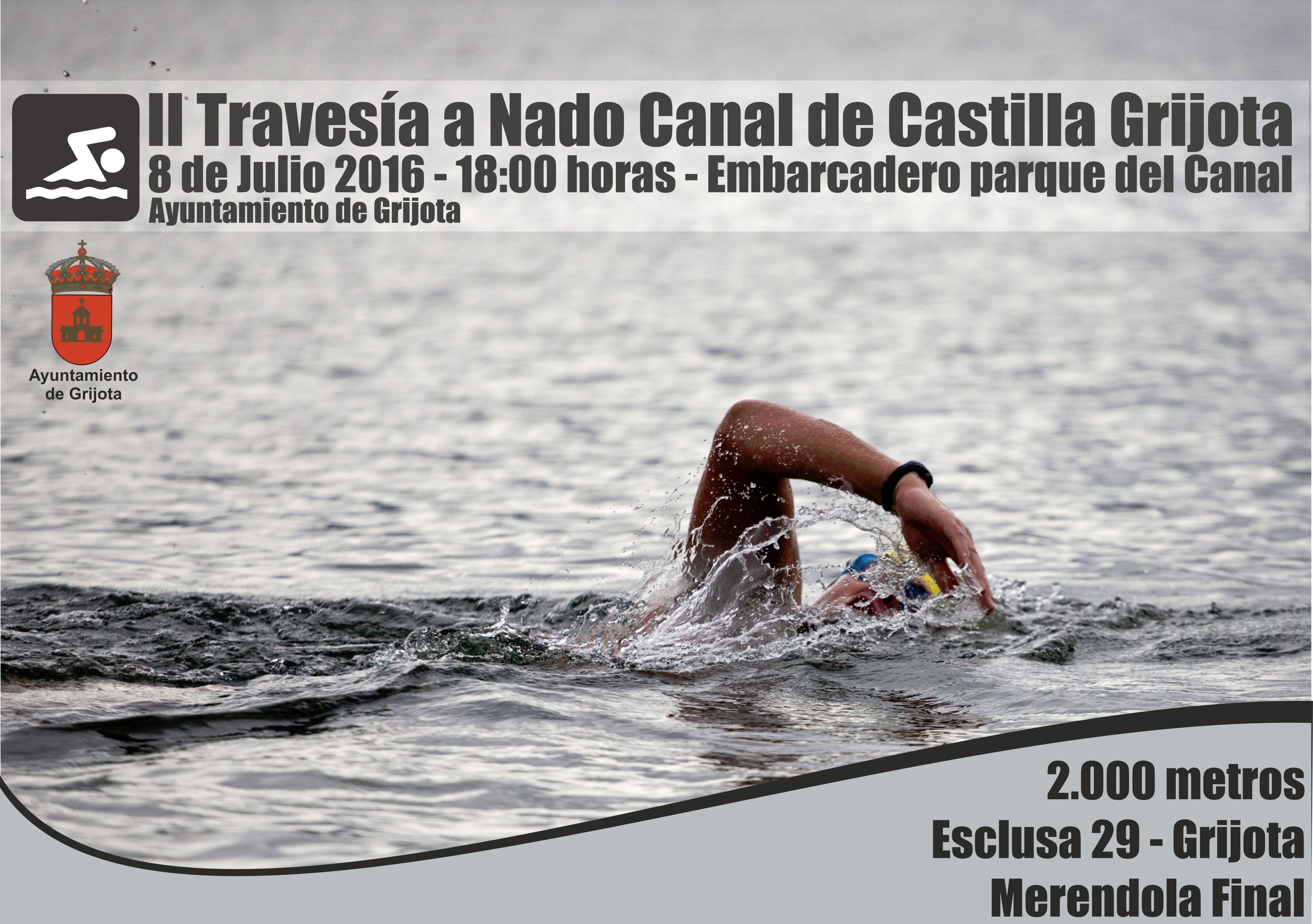 Travesía a nada Canal de Castilla