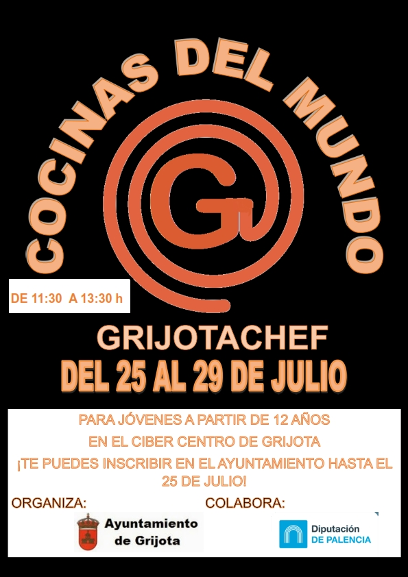 Grijota Chef – Cocinas del Mundo