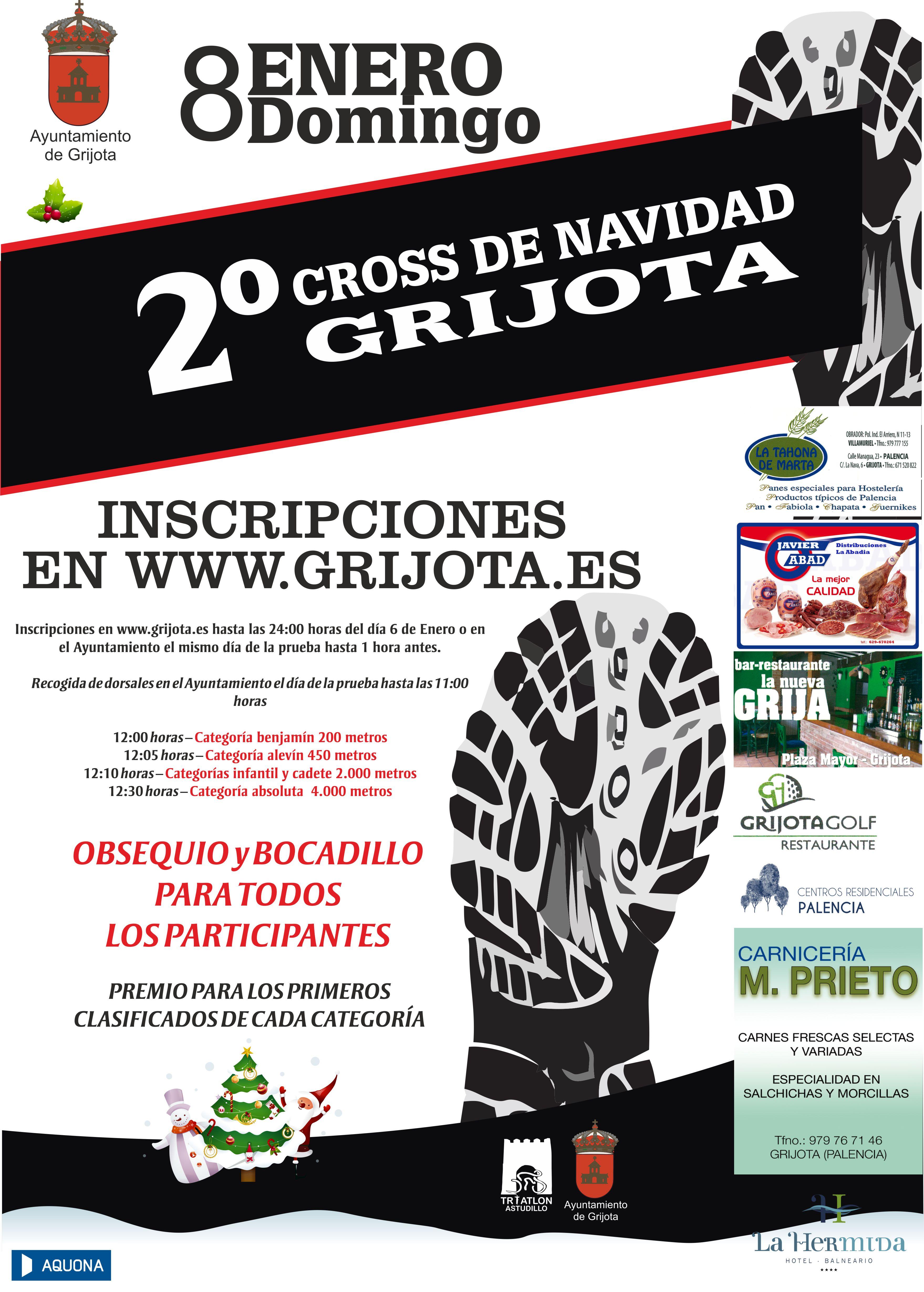 2º Cross Navidad – Grijota