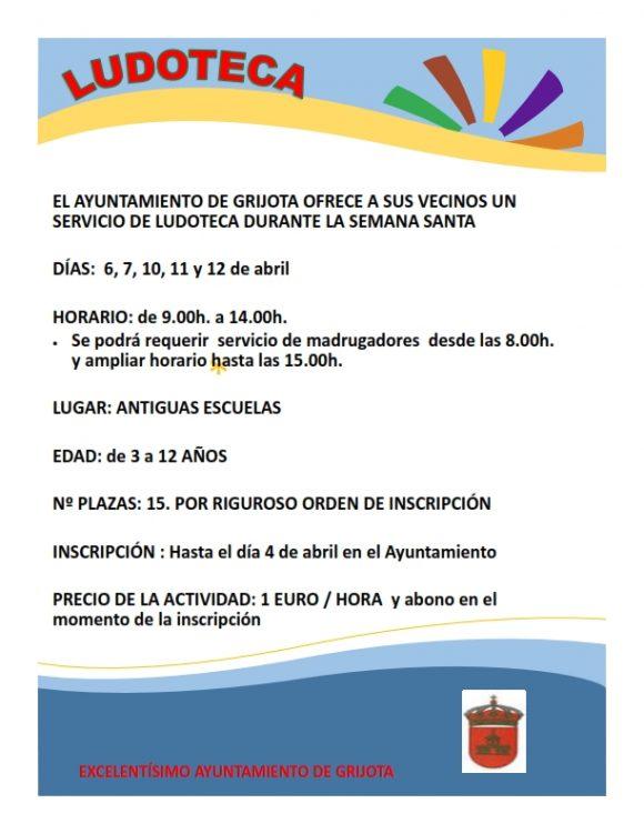 CARTEL LUDOTECA SEMANA SANTA 2017_001