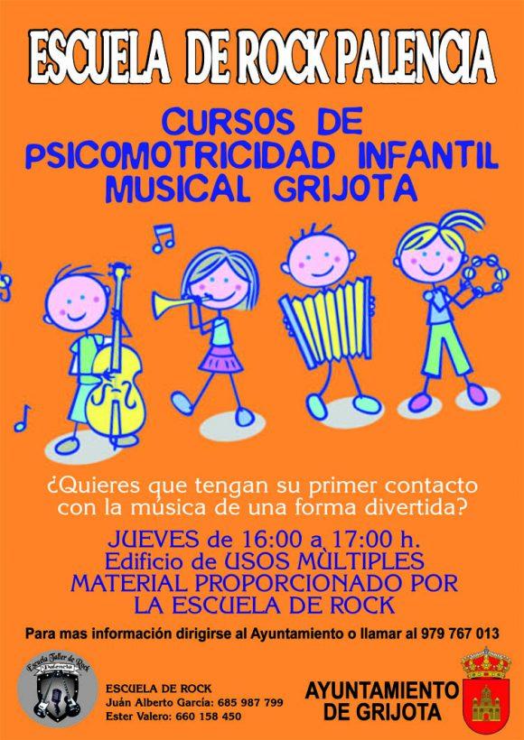 CURSO PSICOMOTRICIDAD INFANTIL GRIJOTA