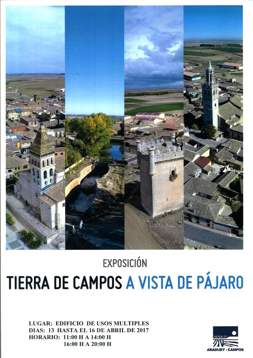 Exposición Tierra de Campos a Vista de Pájaro