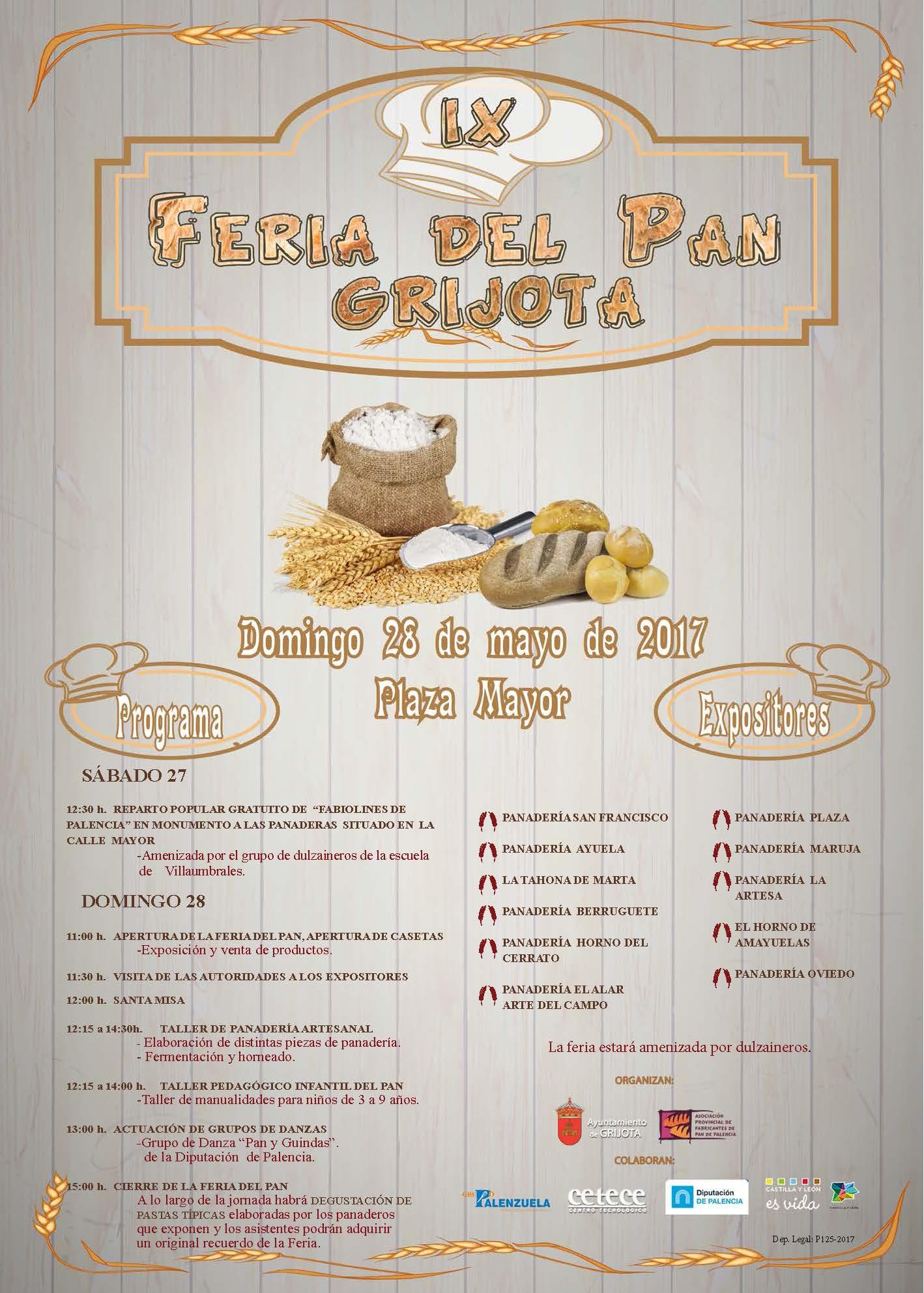 IX Feria del pan