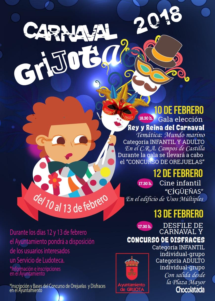 Carnaval de Grijota 2018