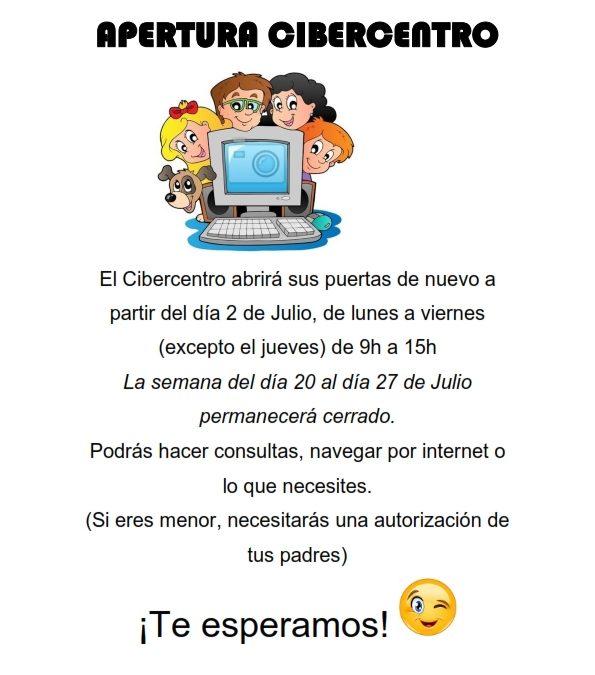 Apertura Cibercentro