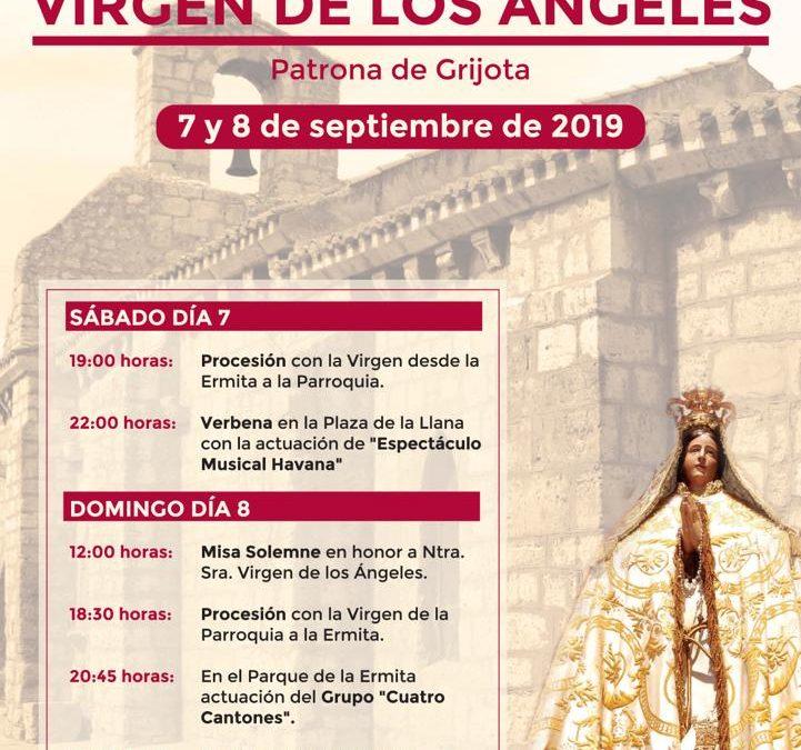 Cartel Fiestas Ntra. Sra. Virgen de los Ángeles