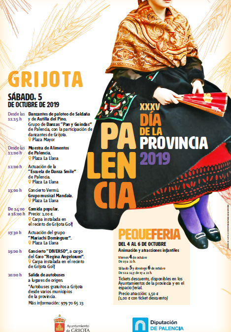 XXXV Día de la Provincia Palencia 2019