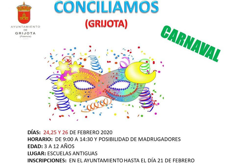Conciliamos Carnaval