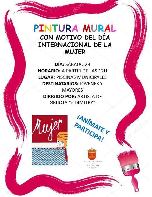 Pintura Mural Día Internacional de la Mujer