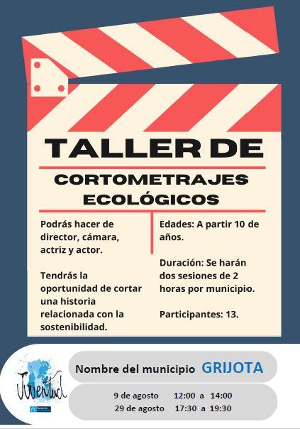 Taller Cortometrajes Ecológicos