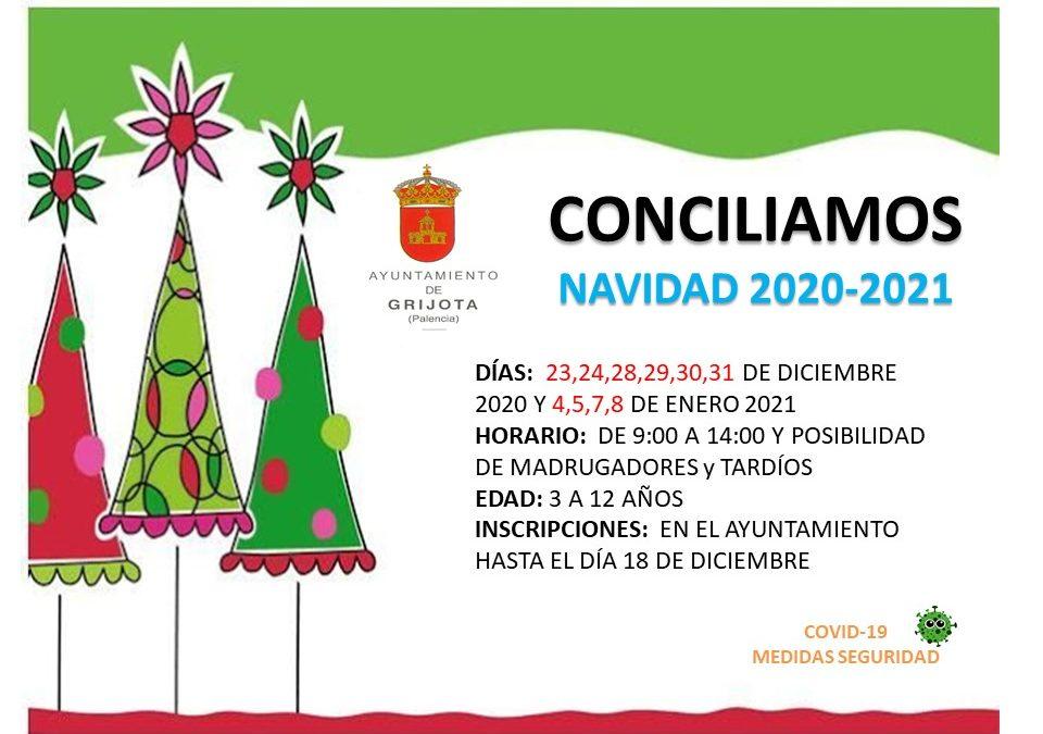 Conciliamos Navidad 2020/2021