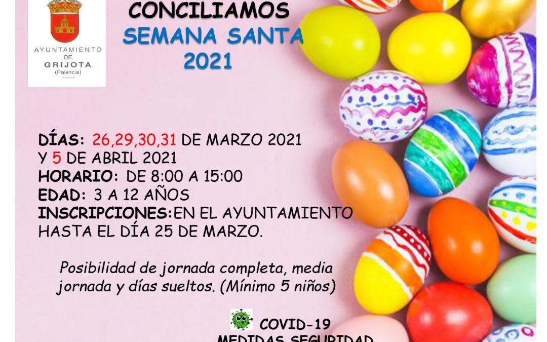 Conciliamos Semana Santa 2021