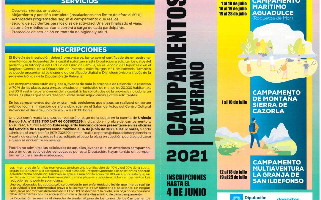 Campamentos Deportivos 2020-21